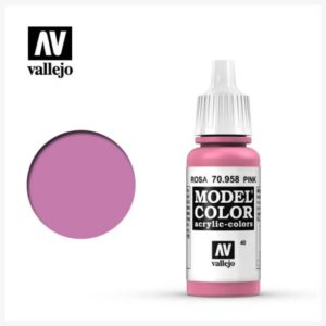 Model Color Acrylic Color Pink