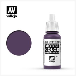 Model Color Acrylic Color Royal Purple