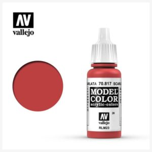 Model Color Acrylic Color Scarlet