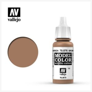 Model Color Acrylic color Brown Sand