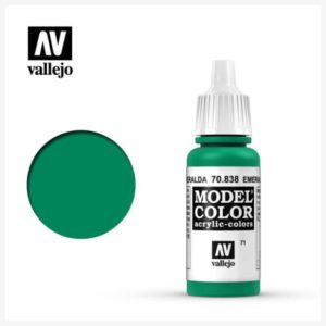 Model Color Acrylic color Emerald