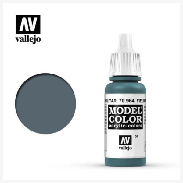 Model Color Acrylic color Field Blue