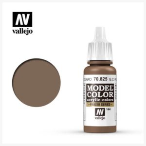 Model Color Acrylic color G.C. Pale Brown