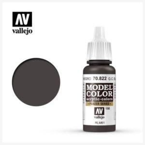 Model Color Acrylic color Ger. C. Black Brown