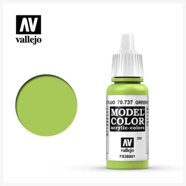 Model Color Acrylic color Green Fluor