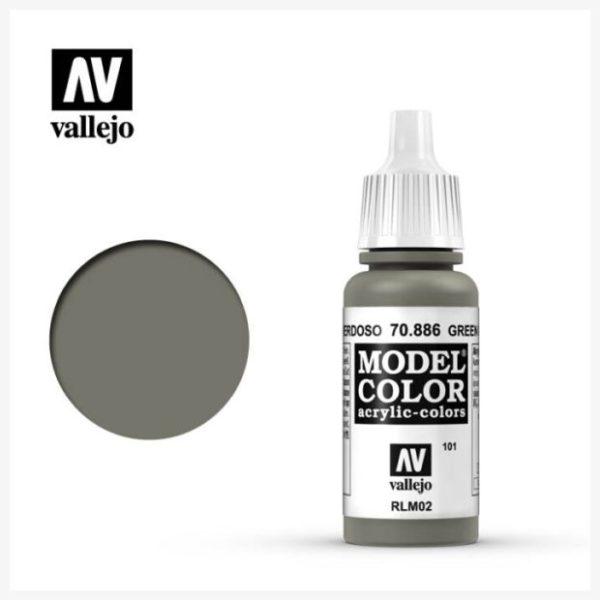 Model Color Acrylic color Green Grey