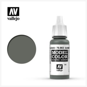 Model Color Acrylic color Gunmetal Grey