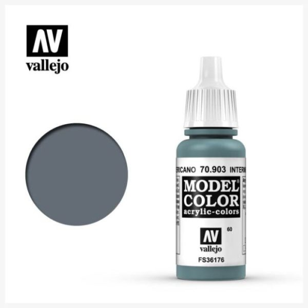 Model Color Acrylic color Intermediate Blue