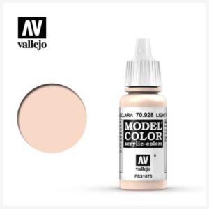 Model Color Acrylic color Light Flesh