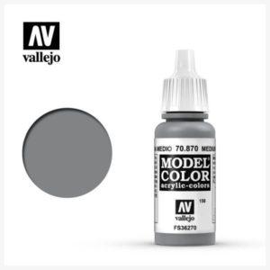 Model Color Acrylic color Medium Sea Grey