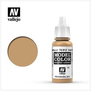 Model Color Acrylic color Tan Yellow