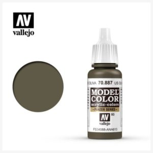 Model Color Acrylic color US Olive Crab