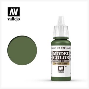 Model Color Acrylic color Uniform Green
