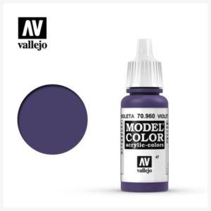 Model Color Acrylic color Violet