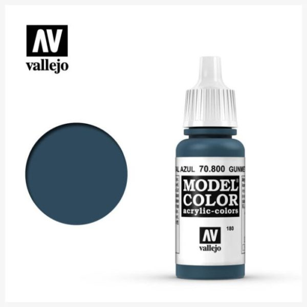 Model color Acrylic color Gunmetal Blue