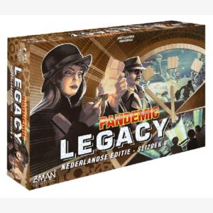 Pandemic Legacy Seizoen 0 Nederlandstalig