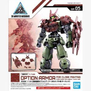 Portanova Exclusive Option Armor: Close Fighting 30mm Option 1:144 scale model Dark Red