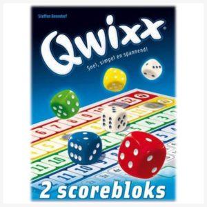 Qwixx Scoreblocks Nederlandstalig