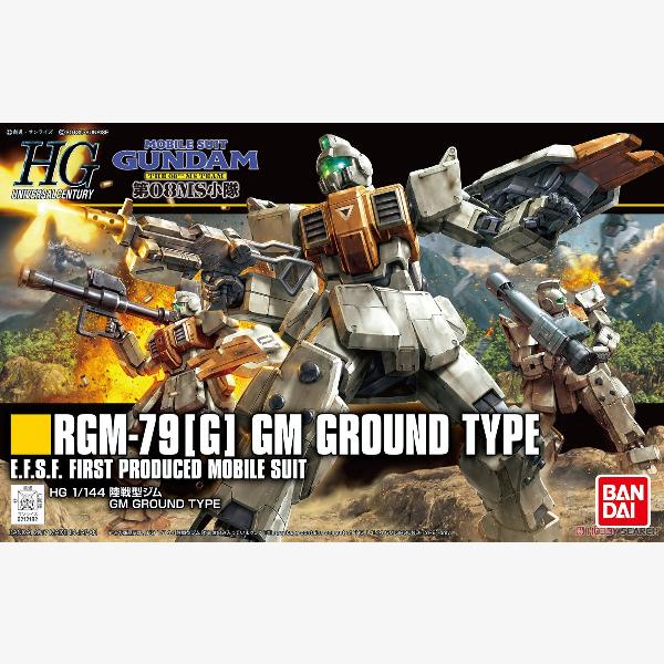 RGM-79(G) GM Ground Type HGUC 1:144 scale model