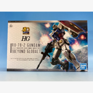 RX-78-2 Gundam (beyond Global) HGUC 1:144 scale model