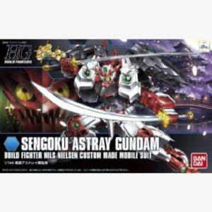 Sengoku Astray Gundam HGBF 1:144 scale model