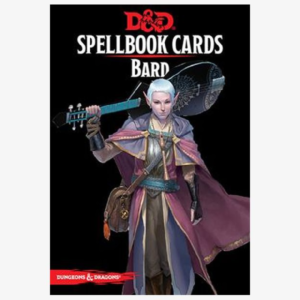 Spellbook cards Bard