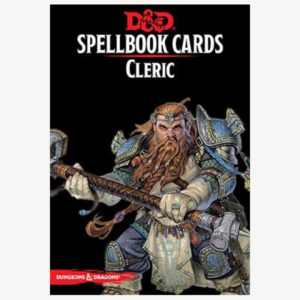 Spellbook cards Cleric