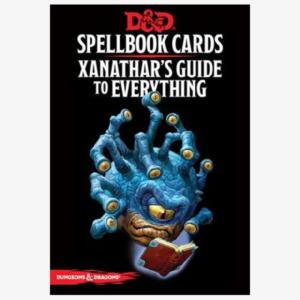 Spellbook cards Elemental & Xanathars Cards Engelstalig