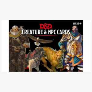 Spellbook cards Monster cards: Creature & NPC