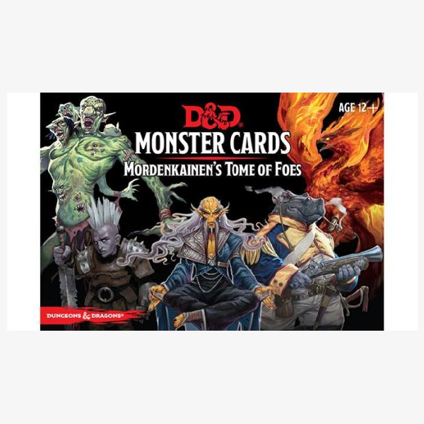 Spellbook cards Monsters Mordenkainen's tome of Foes