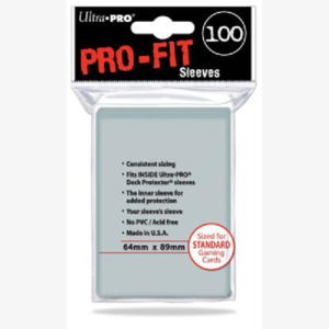 Standard Pro Fit inner sleeves 100 stuks Clear