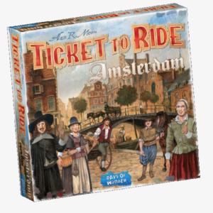 Ticket to Ride Amsterdam Nederlandstalig