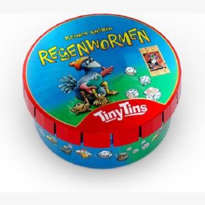 Tiny tin Regenwormen 2nd edtion Nederlandstalig