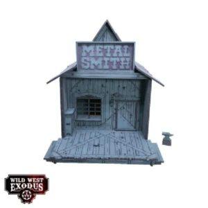 Wild West Exodus Terrein Red Oak Metal Smith