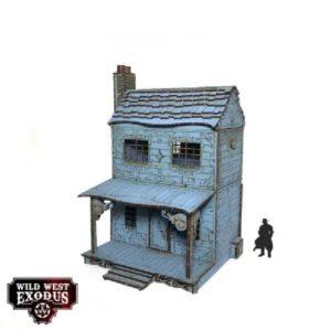 Wild West Exodus Terrein Red Oak Town House