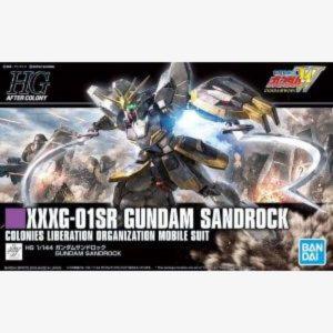 XXXG-01SR Gundam Sandrock HGAC 1:144 scale model