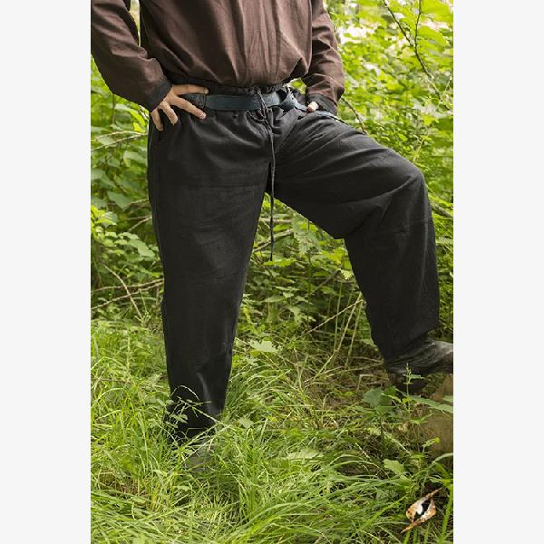 Basic Pants - Epic Black - Size S