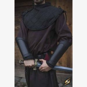 Bracers Warrior - Black - Size L