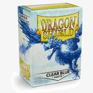 DS sleeves Standard Matte 100 stuks Clear Blue