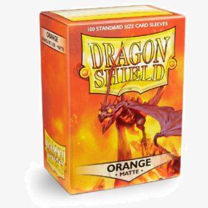 DS sleeves Standard Matte 100 stuks Orange