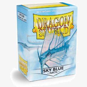 DS sleeves Standard Matte 100 stuks Sky Blue