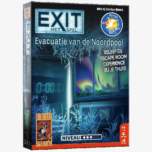 Exit Evacuatie van de Noordpool