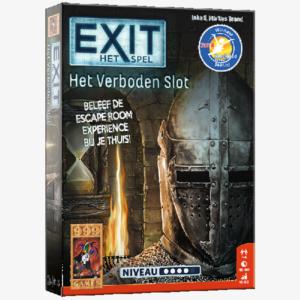 Exit Verboden Slot