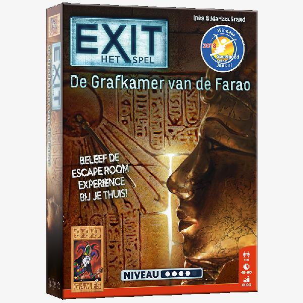 Exit de grafkamer van de Farao