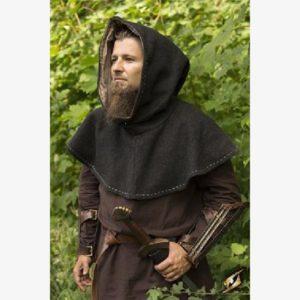 Hood - Medieval - Grey - Size L/XL