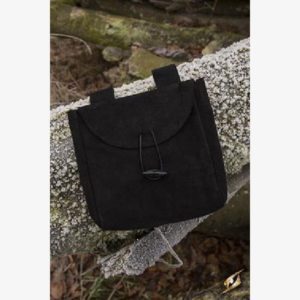 Leatherbag Thin - Black - L