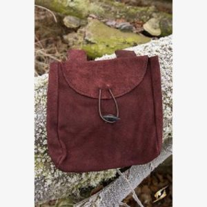 Leatherbag Thin - Brown - L