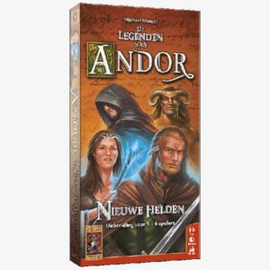Legenden van Andor Nieuwe Helden 5/6 speler uitbreiding