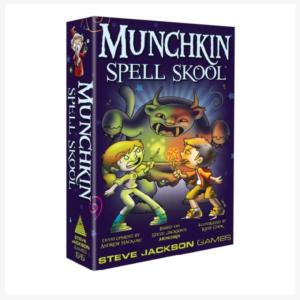 Munchkin Spell Skool Engelstalig