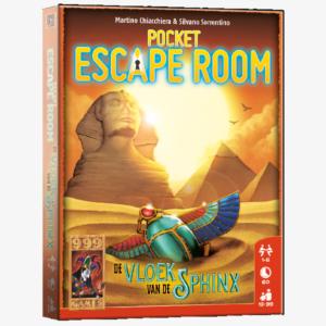 Pocket Escape Room De Vloek van de Sphinx Nederlandstalig